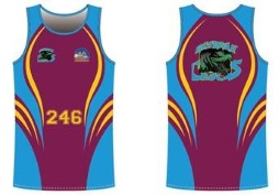 New Athletics Team Singlets