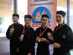 Success at the Junior Secondary Schools Culinary Challenge